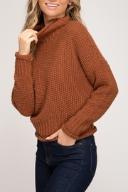She + Sky Mariah Mock Sweater - Side cropped