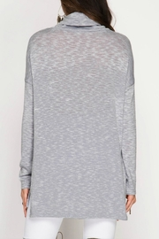 She + Sky Marled Knit Top - Front full body