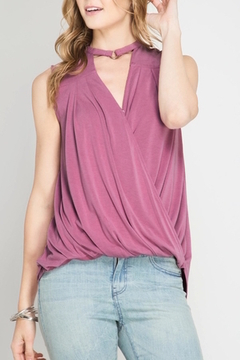 Shoptiques Product: Mauve Sleeveless Top