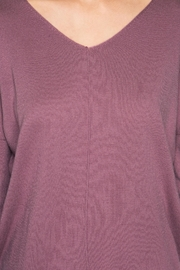 She + Sky Mauve Sweater Tunic - Side cropped