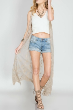 Shoptiques Product: Maxi Lace Duster