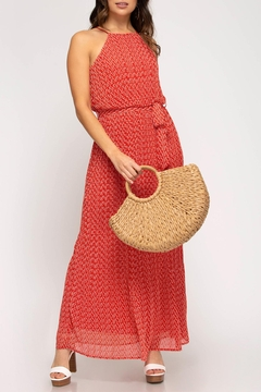 She + Sky Mesa Maxi Dress - Product List Image