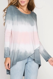 She + Sky Ombre Crossover Tunic - Product Mini Image