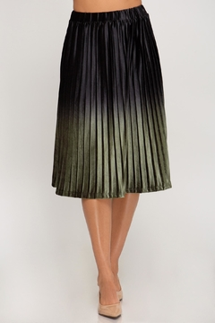 She + Sky Ombre Midi Skirt - Product List Image