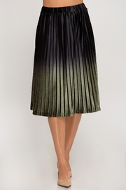 She + Sky Ombre Midi Skirt - Product Mini Image
