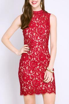 Shoptiques Product: Open-Back Lace Dress