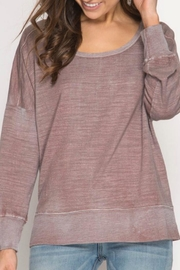 She + Sky Open Back Top - Front cropped