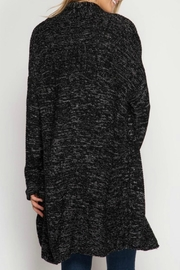 She + Sky Open Cardigan Sweater - Front full body
