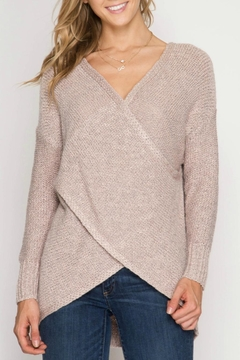 Shoptiques Product: Overlapping Sweater