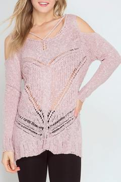 Shoptiques Product: Perfect Pink Sweater