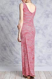 She + Sky Pink Striped Maxi - Side cropped