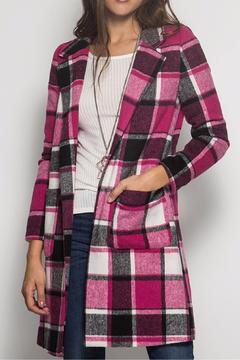 Shoptiques Product: Plaid Coat