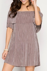 She + Sky Pleat Perfection Dress - Product Mini Image