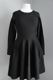 She + Sky Pleated Sweater Dress - Front cropped