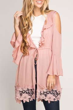 Shoptiques Product: Rose Cardigan