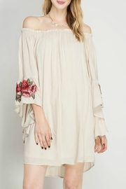 She + Sky Rose Embroidered Dress - Product Mini Image