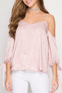 Shoptiques Product: Rose Satin Camisole