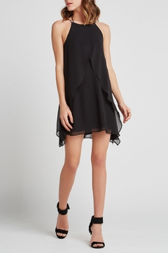 Shoptiques Product: Ruffle Front Cocktail Dress