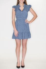 She + Sky Ruffle Sleeve Dress - Product Mini Image