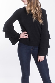 She + Sky Ruffle Sleeve Sweater - Product Mini Image