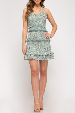 She + Sky Sadie Smocked Dress - Product List Image