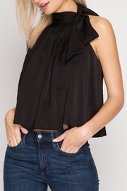 She + Sky Satin High Neck Top - Product Mini Image