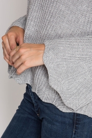 She + Sky Scallop Detail Sweater - Other