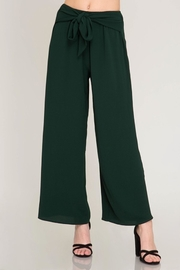 She + Sky Green Palazzo Pant - Product Mini Image
