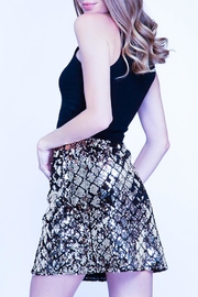 She + Sky Sequin Mini Skirt - Product Mini Image