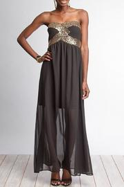 She + Sky Sequined Maxi Dress - Product Mini Image