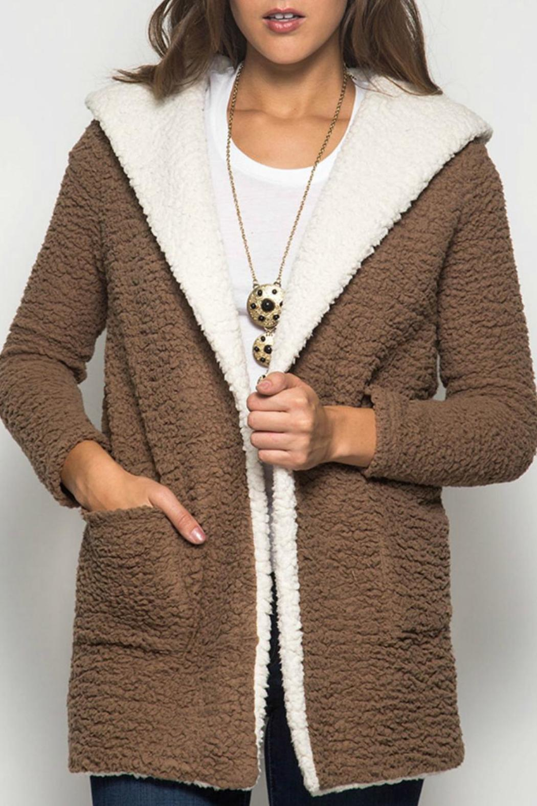 She   Sky Shearling Fleece Coat from Kansas by Seirer's Clothing ...