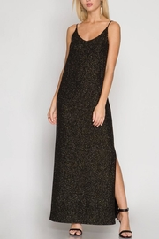 She + Sky Shimmer Maxi Dress - Product Mini Image