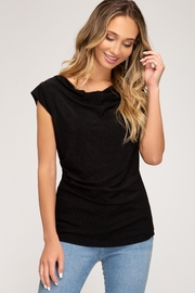 She + Sky Shine Bright Top - Front cropped