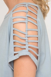 She + Sky Shoulder Cutout Top - Other