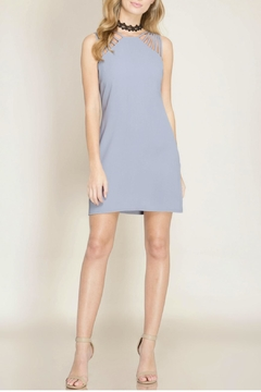 Shoptiques Product: Sleeveless Fitted Dress
