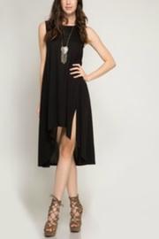 She + Sky Sleeveless High-Low Midi - Product Mini Image