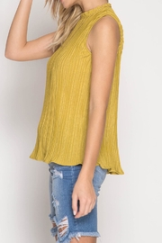 She + Sky Sleeveless Pleated Top - Other