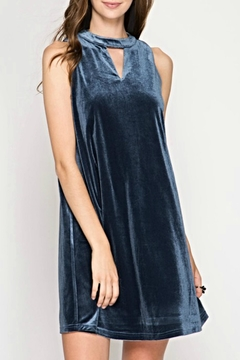 Shoptiques Product: Sleeveless Velvet Dress