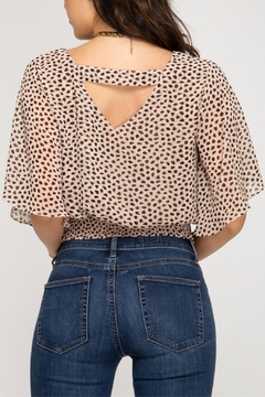 She + Sky Smocked Waistband Top - Alternate List Image