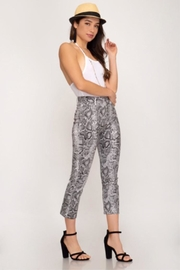 She + Sky Snake Skin Pants - Product Mini Image