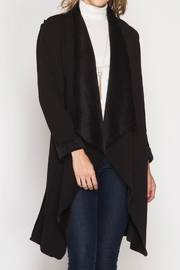 She + Sky Soft Cardigan - Front cropped
