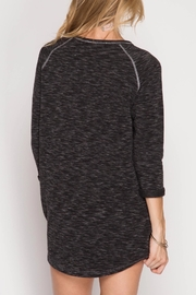 She + Sky Soft Knit Dress - Front full body