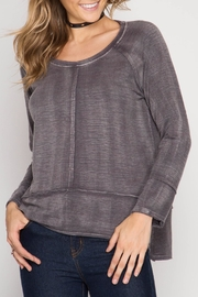 She + Sky Soft Washed Top - Product Mini Image