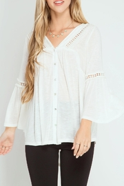 She + Sky Sophia Bell Top - Product Mini Image