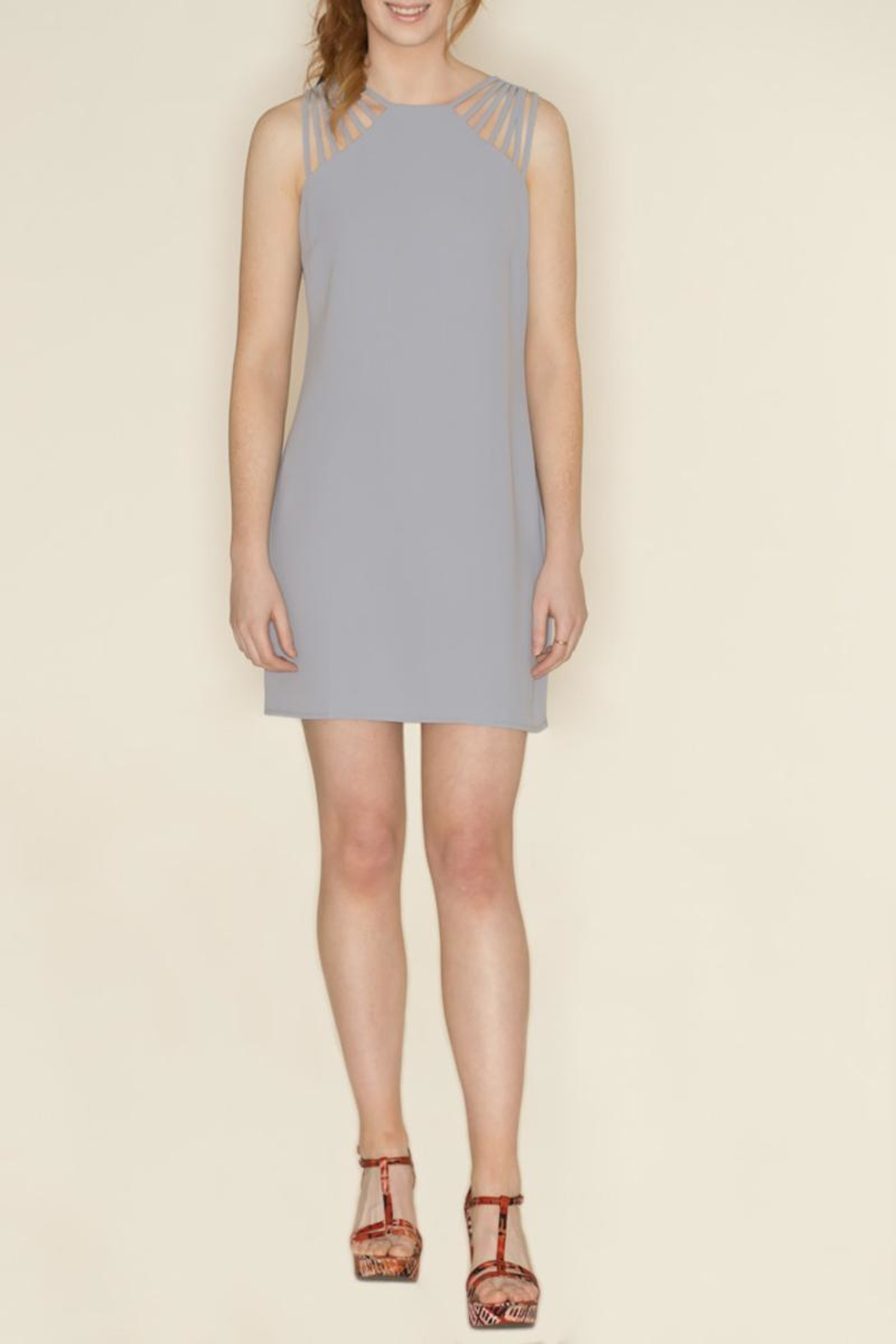 She + Sky Spaghetti Strap Dress - Main Image