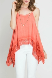 She + Sky Spaghetti Strap Top - Product Mini Image
