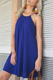 She + Sky Sporty Royal Dress - Front cropped