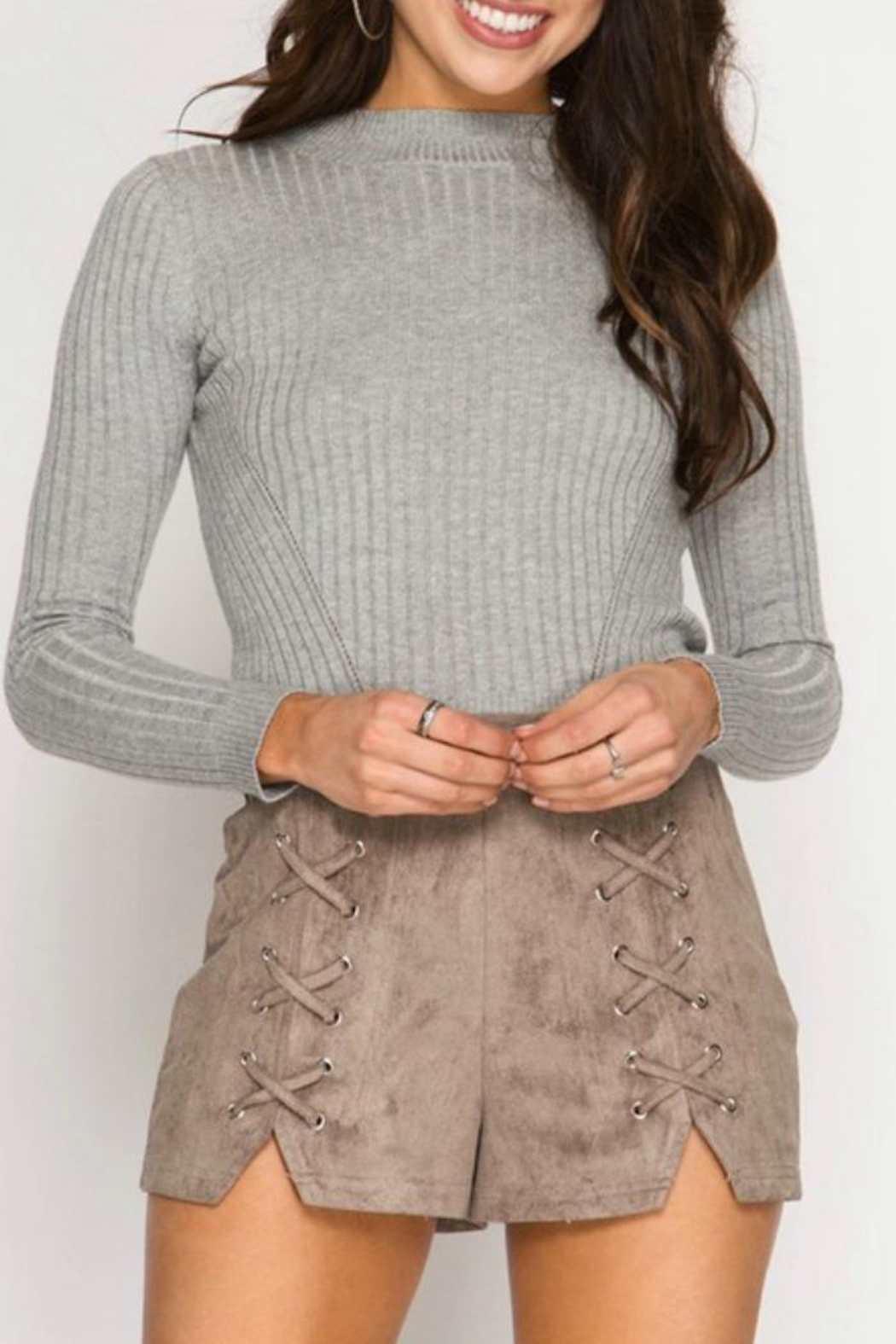 She + Sky Statement Style - Front Cropped Image