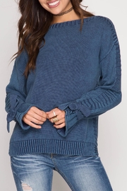 She + Sky Stoned Sweater - Product Mini Image