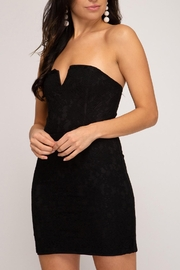 She + Sky Strapless Lace Lbd - Product Mini Image